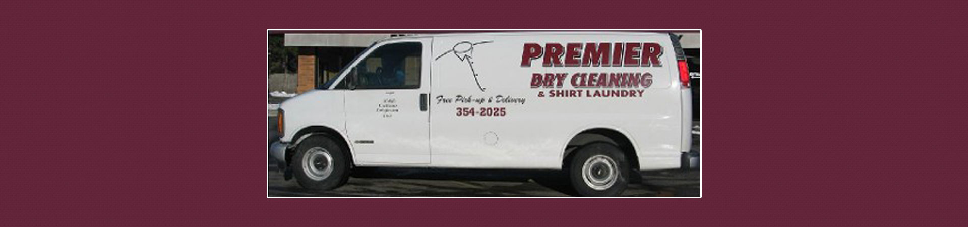 Premier Dry Cleaning Van